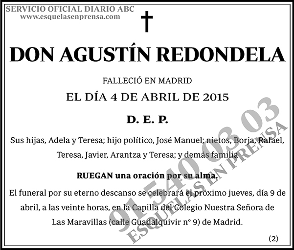 Agustín Redondela